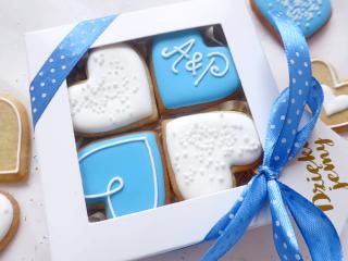 Szczęśliwe Pudełko - błękitne